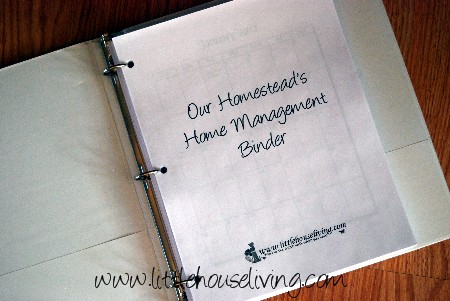 Post image for The Homesteader's Home Management Binder Pages!
