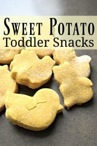 Sweet Potato Toddler Snacks