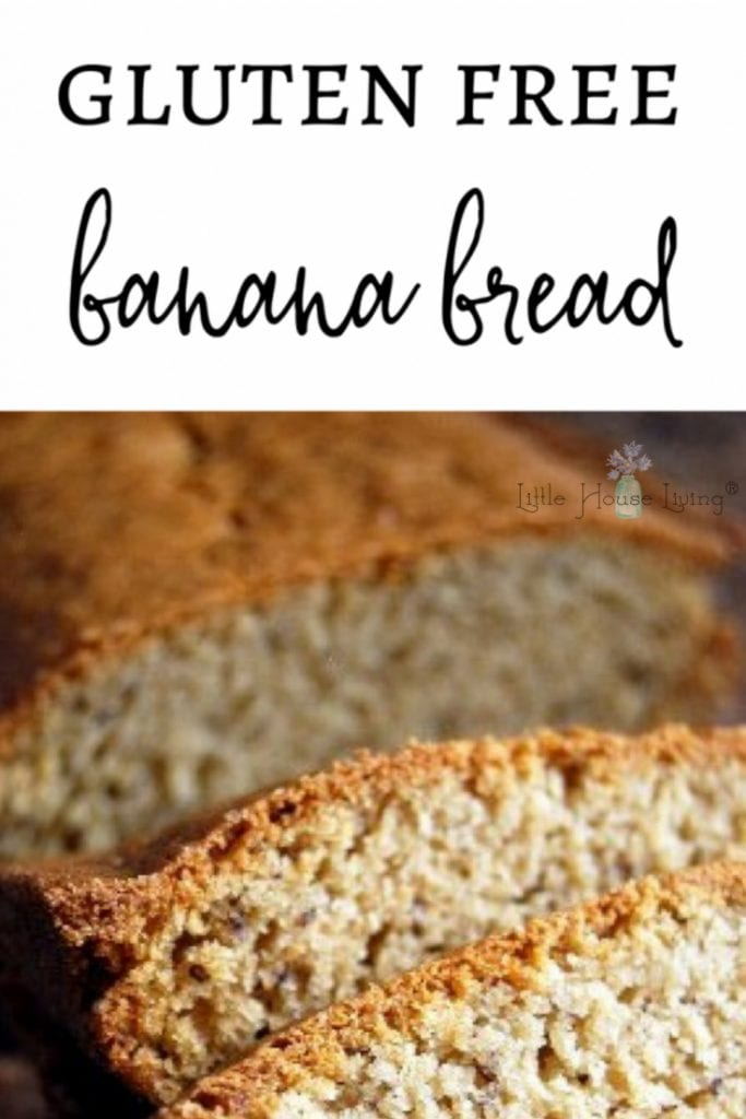 If you've been on the hunt for a wonderfully easy Gluten Free Banana Bread recipe, I think you may have found a winner here! This recipe is super simple and so delicious! #glutenfree #bananabread #glutenfreebread #glutenfreebananabread #breadrecipes