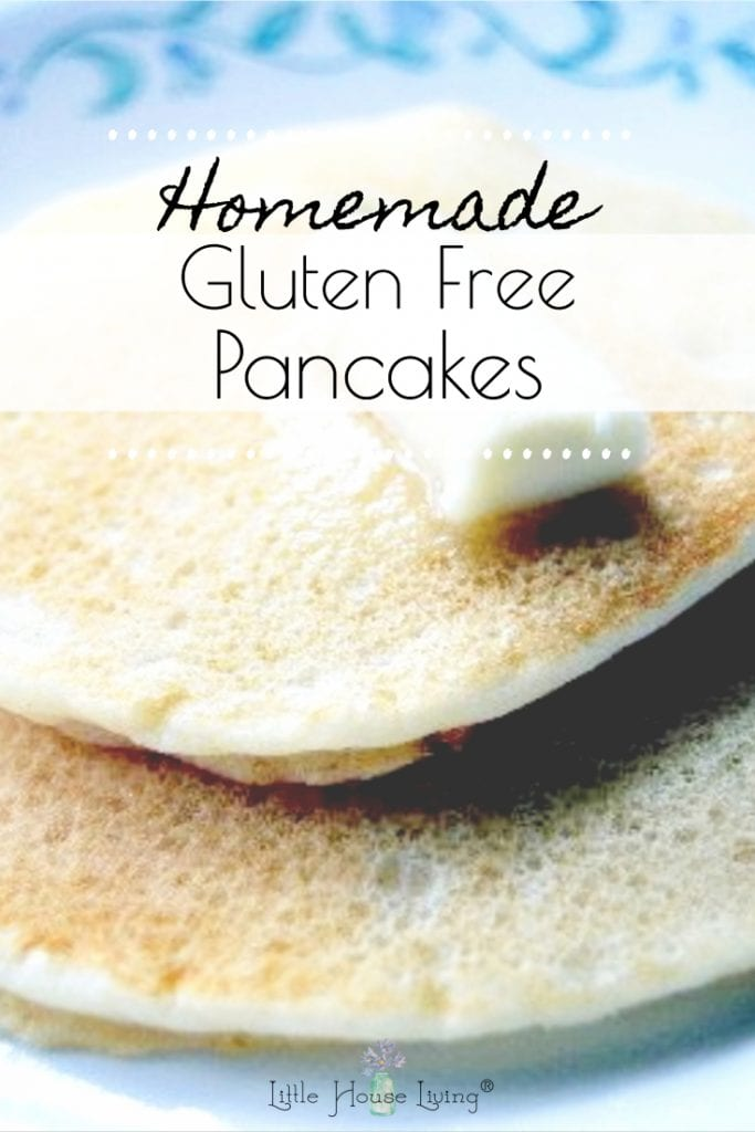 Being gluten-free doesn't mean you have to give up your favorite breakfast foods! Learn how to make these Simple Gluten Free Pancakes from scratch, easy and delicious! #glutenfree #glutenfreepancakes #breakfast #fromscratch #pancakes #gf