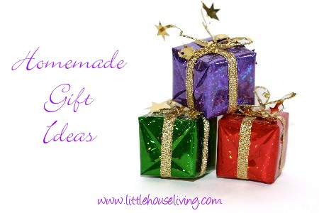 Post image for Homemade Gift Ideas Roundup