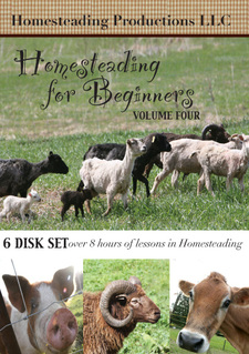 Post image for Homesteading for Beginners Volume 4: A Review & Giveaway!
