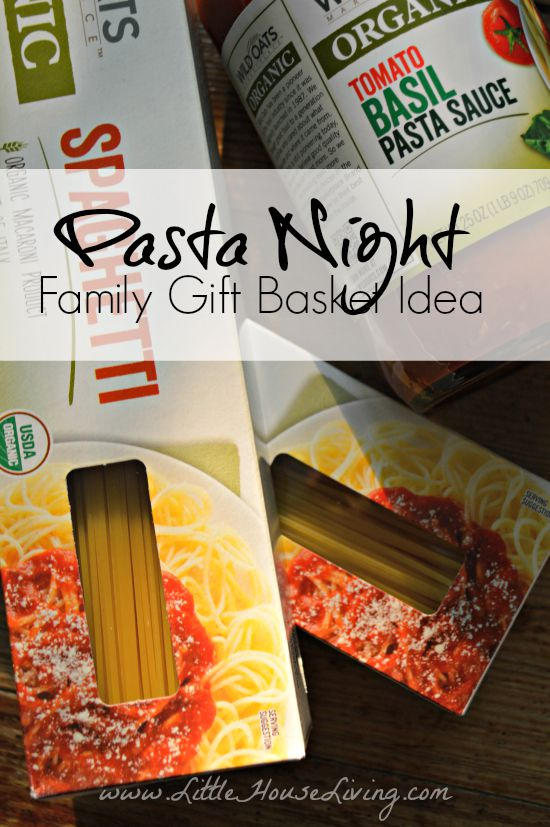Pasta Night Family Gift Idea