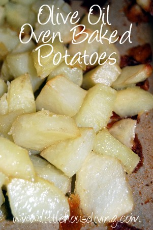Post image for Olive Oil Oven Baked Potatoes