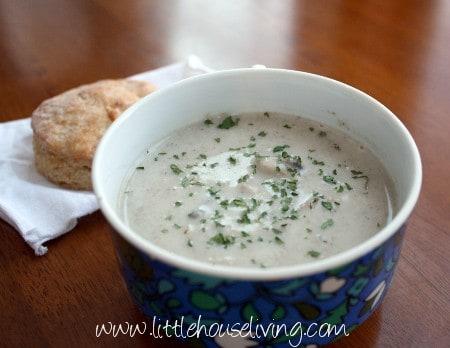 Post image for Homemade Cream of Mushroom Soup
