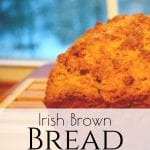 Looking for a hearty and quick whole wheat bread recipe? This Irish Brown Bread is delicious, quick and easy, the perfect addition to complete any meal! #irishbrownbread #quickbreads #irishsodabread #homemadebread #wholewheatbread