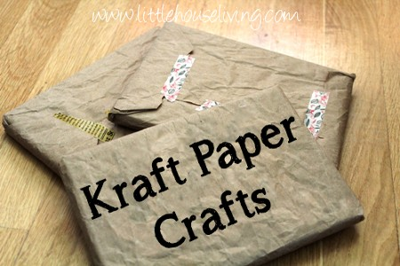 Post image for Kraft Paper Crafts