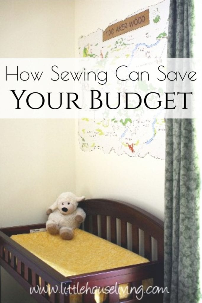 Learn how Sewing can Save your Budget with these frugal sewing tips and ideas! Sewing on a budget doesn't have to be perfect or complicated, check out these easy ideas to get started! #frugalsewing #sewingonabudget #minimalism #frugal