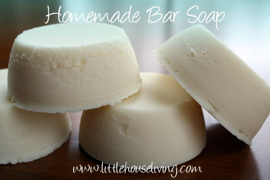 Homemade Hand Soap - Little House Living