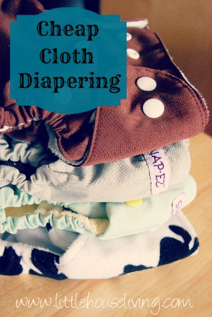 Cheap Cloth Diapers and Frugal Cloth Diapering - Little House Living