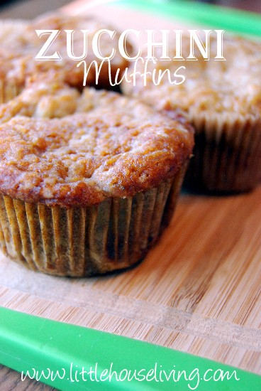 Post image for Zucchini Muffin Recipe
