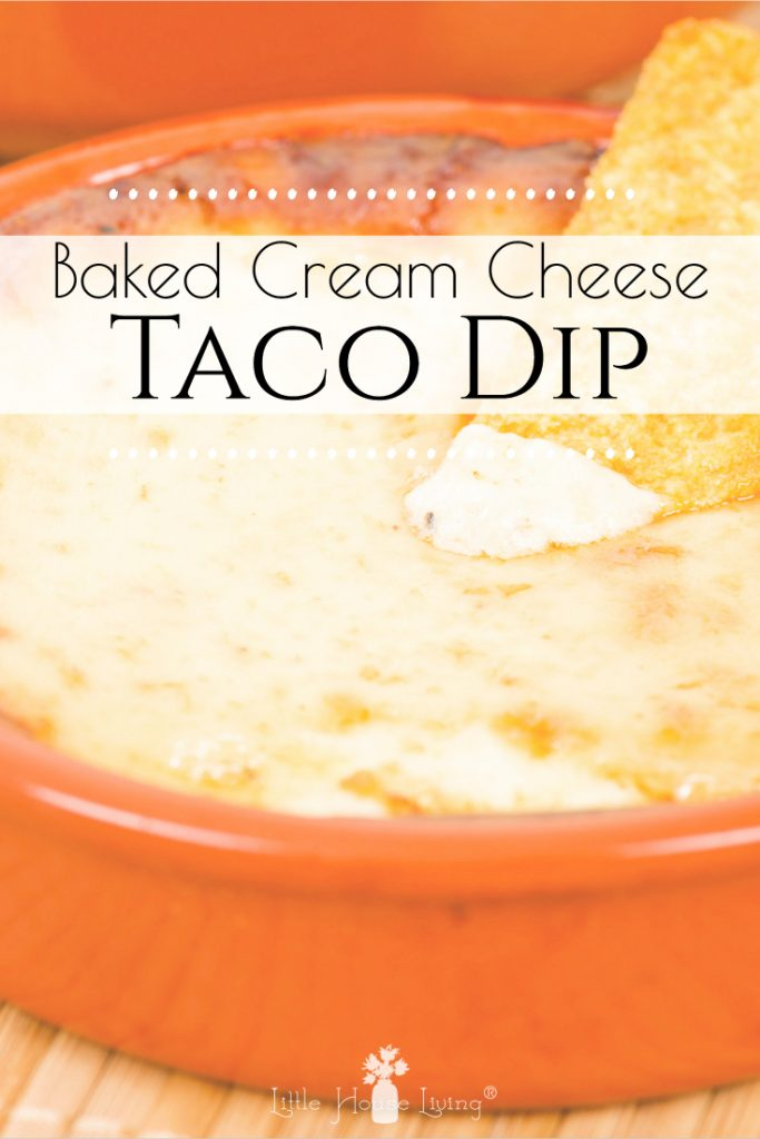 This delicious Taco Dip with Cream Cheese recipe is an easy and delicious way to feed your family or have it on hand for guests. Use it as a dip or make it a meal! #tacodip #creamcheese #diprecpe #easy #dinner