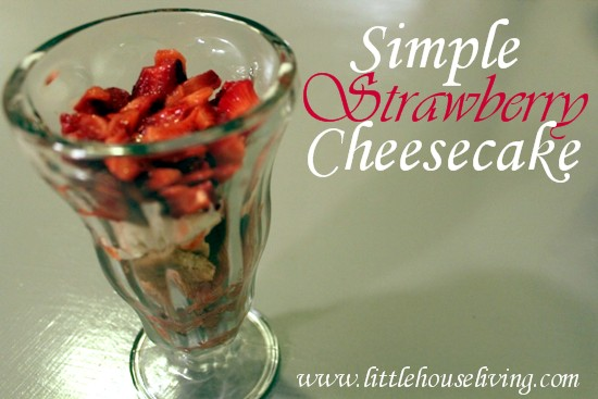 Post image for Simple Strawberry Cheesecake