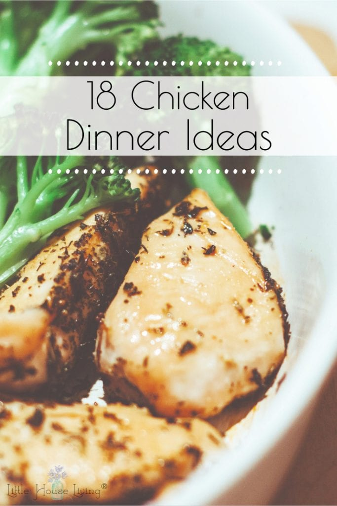 Need some simple dinner ideas with chicken that you can make for your hungry family? Here are some fast and easy meals that the whole family will enjoy! #dinnerideaswithchicken #chickendinners