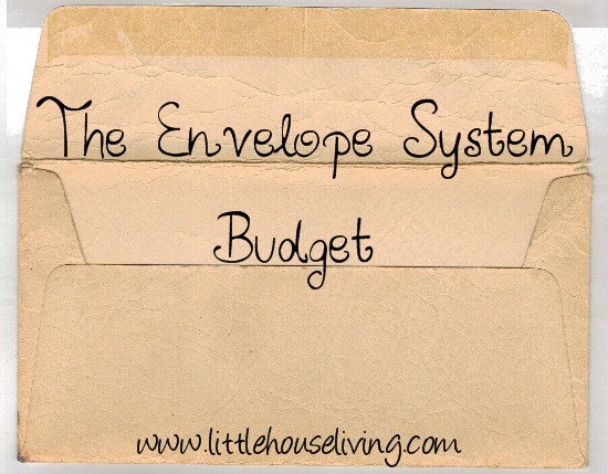 Post image for Envelope System Budgeting