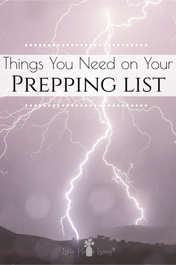 "Are you prepared for the unexpected? There's no need to go into full ""zombie attack"" mode and there's also no need to live in fear. Here's a basic prepper list that will help get you on your feet and get you started into the world of simple prepping."