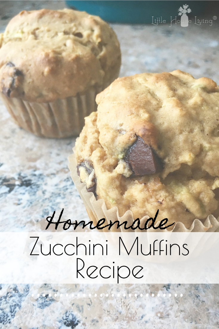 Looking for a tasty way to use all of your garden zucchini? This delicious Zucchini Muffins recipe is so easy to make and your family will love it! #zucchinimuffins #muffinrecipe #zucchinirecipes