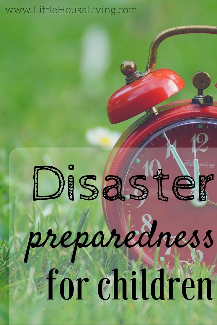 Disaster Preparedness for Children