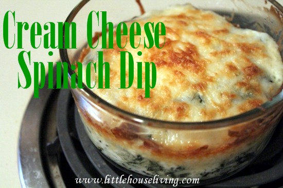 Post image for Cream Cheese Spinach Dip Recipe