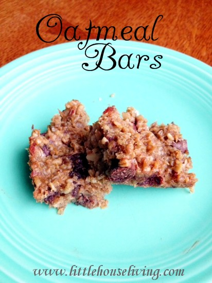 Post image for Homemade Oatmeal Bars