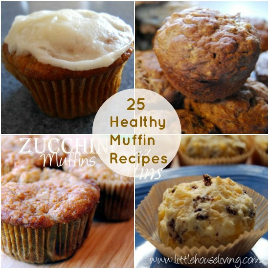 Easy Healthy Muffin Recipes