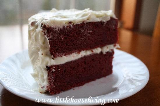 Recipe for Red Velvet Cake - No Dye Red Velvet Cake