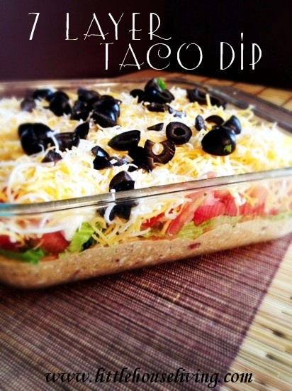 7 Layer Taco Dip - Little House Living