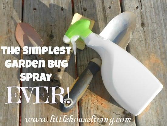 Bug Spray for Gardens