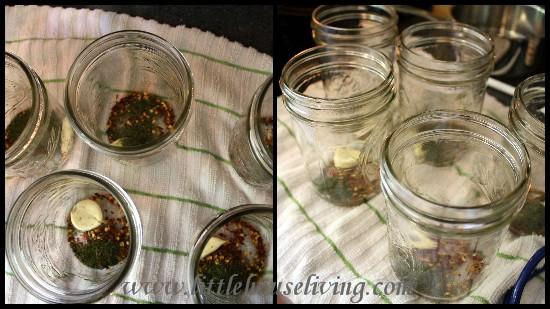 Little House Living - Pickled Green Beans