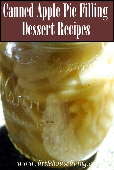 Apple Pie Filling Recipes