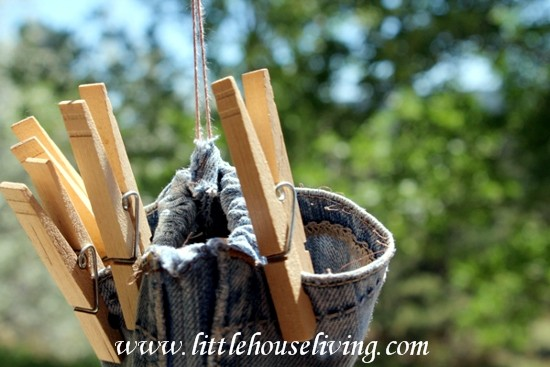 Clothespin Bag - Little House Living