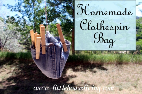 Post image for Homemade Clothespin Bag