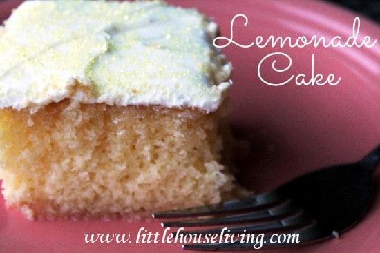 Post image for Lemonade Cake Recipe