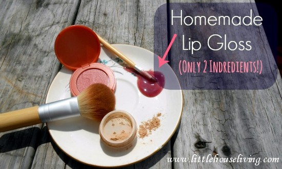 how to make my own lip gloss