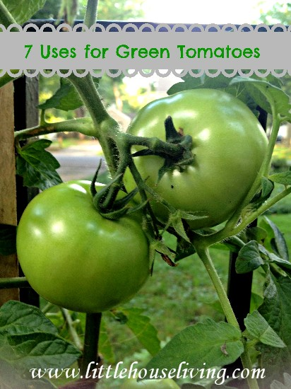 Uses for Green Tomatoes - Little House Living