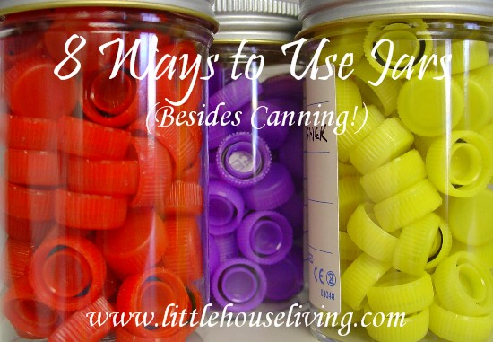 Post image for 8 Ways to Reuse Mason Jars (Other Than For Canning!)
