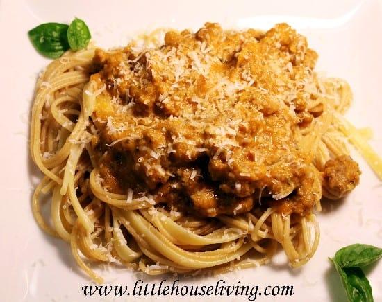spaghetti sauce from scratch