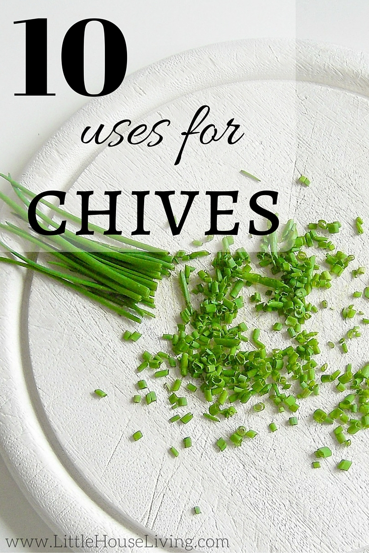 10 wonderful uses for chives!