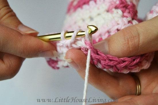 Crocheted Dishcloth