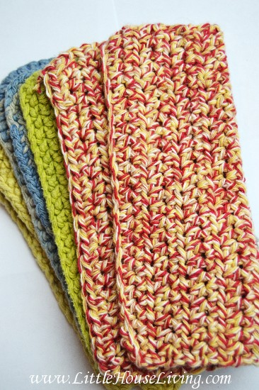 How To Crochet A Dishcloth Step By Step Tutorial