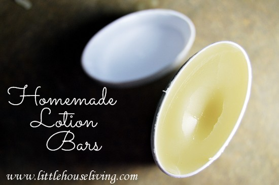 make your own homemade lotion bars