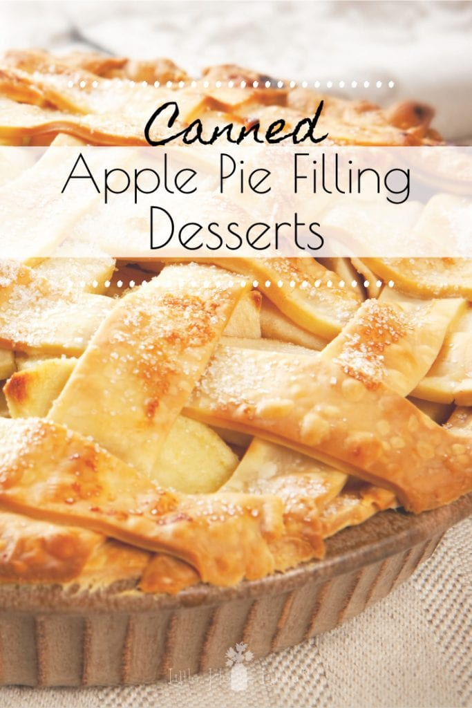 Did you can up some Apple Pie Filling this year or do you plan to? You are definitely going to want some Canned Apple Pie Filling Desserts, here are some great recipes you will enjoy! #applepiefilling #dessertrecipes #applepiefillingdesserts #dessert
