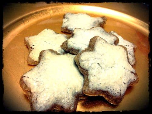 German Cinnamon Star Cookies - Little House Living