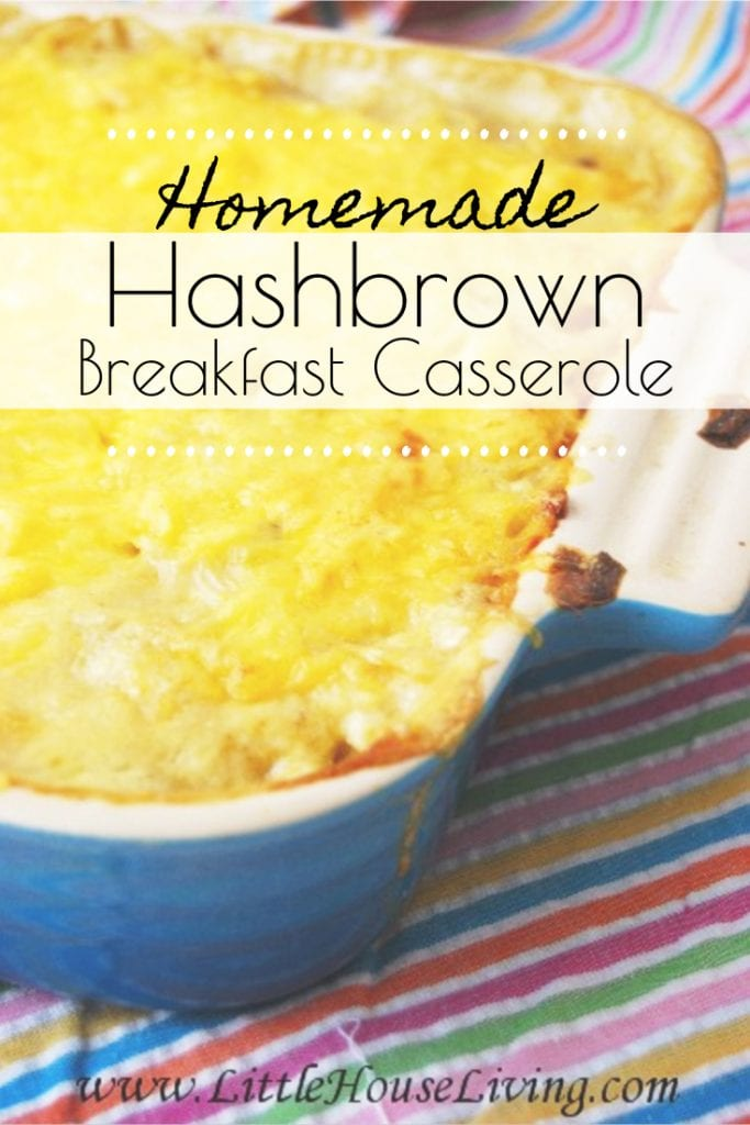 You have to make this Breakfast Hashbrown Casserole Recipe! Warm, delicious, and perfect for that cold winter morning when you want a hearty breakfast! #glutenfreebreakfastcasserole #hashbrowncasserole #breakfastcasserole #fromscratch #glutenfree #breakfastrecipes #makeaheadmeals