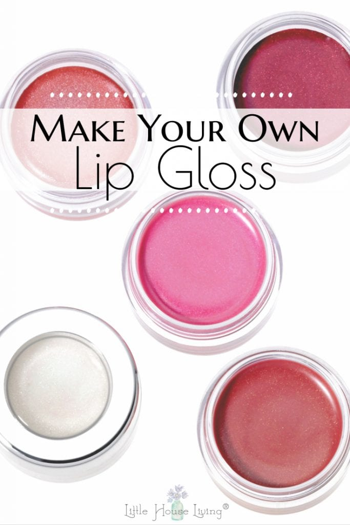 Have you ever made your own makeup? Give it a try with this easy, Homemade Tinted Lip Gloss! It uses all-natural colors and it works great to moisturize your lips! #homemadelipgloss #homemademakeup #lipgloss #tintedlipgloss #allnaturalmakeup #diylipgloss