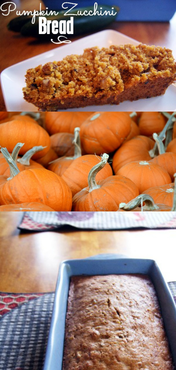 Pumpkin Zucchini Bread Recipe