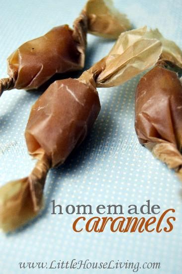 Easy Homemade Caramels Recipe - Little House Living