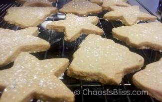 Simple Homemade Gifts - Brown Sugar Shortbread
