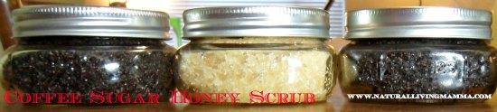 Coffee Honey Sugar Scrub - Little House Living