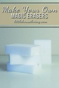 Homemade Magic Erasers